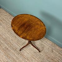 Elegant Sycamore and Yew Antique Wine Table (3 of 6)