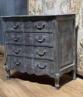 Smaller French Painted Chest of Drawers (8 of 9)