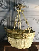Brass Basket Shaped Light Fitting (4 of 11)