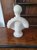 Carved Marble Portrait Bust of Gentleman (3 of 3)