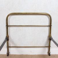 Brass Bed Frame Victorian 19th Century Single Bedframe Cast Iron (8 of 12)