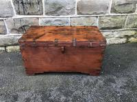 Antique Anglo Indian Brass Bound Trunk (11 of 11)