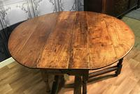 Georgian Oak Drop Leaf Table (6 of 11)