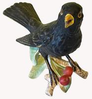 Porcelain Blackbird by Goebel of Germany (4 of 6)