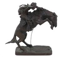 'Broncho Buster' After Frederic Remington