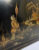 Edwardian Japanned Chinoiserie Nest of Tables (6 of 12)
