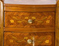 Suite of French Walnut & Floral Marquetry (20 of 20)
