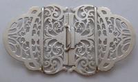 Sheffield 1899 Hallmarked Solid Silver Nurses Belt Buckle Joseph Rodgers & Sons (5 of 8)