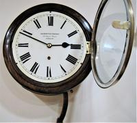"Fabulous 1920 German 10"" Dial Timepiece by W&H (2 of 8)"