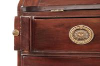 Mahogany Bureau Bookcase Georgian (9 of 15)