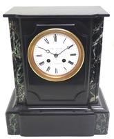 Antique French Slate Mantel Clock Wow! Striking 8-day c.1890 (2 of 11)