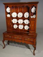 Fine Quality Late 19th Century Oak Dresser & Rack (5 of 5)