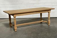 Nice Bleached Oak Farmhouse Dining Table (5 of 19)