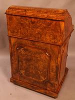 "Superb Victorian Burr Walnut ""Jack in a Box"" Davenport (7 of 16)"