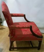 Superb George III Gainsborough Armchair (7 of 9)