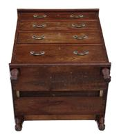 Small Mahogany Chest of Drawers 19th Century (5 of 7)