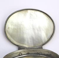 Fine European & Chinese Silver & Mop Carved Novelty Snuff Box 17th/18th Century (10 of 12)