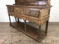 Early 20th Century Antique Oak Pot Board Welsh Dresser (12 of 18)