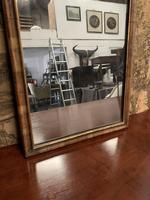 19th Century Mahogany Wall Mirror with Eagle Decoration (3 of 6)