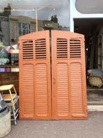 Antique French Shutter Doors