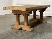 Extremely Rare Large Oak Refectory Table (27 of 35)