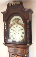Fine English Longcase Clock John Fenton Congleton 8-day Striking Grandfather Clock Solid Mahogany Case (7 of 16)