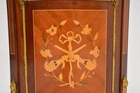 French Inlaid  Marquetry Corner Cabinet (6 of 8)