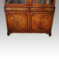 George VI Mahogany Library Bookcase (9 of 13)