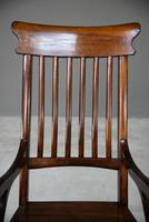Antique Victorian Mahogany Rocking Chair (5 of 12)