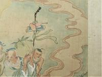Qian Huian, Chinese Ink & Watercolour on Silk Painting c.1890 (6 of 9)