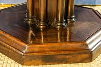 19th Century Mahogany Library Table. Drum or Rent Table (6 of 9)