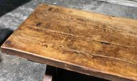 Huge Rustic Chestnut French Farmhouse Dining Table (23 of 27)