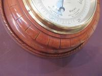 Antique Polished Mahogany Negretti & Zambra Barometer (5 of 7)