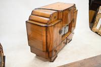 Period Art Deco Cocktail Cabinet Vintage Drinks Chest c.1930 (8 of 12)