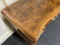 Pretty Quality Burr Walnut Dressing Table (7 of 17)