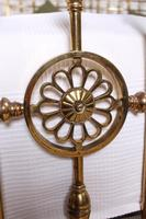 Handsome Super King Size Victorian all Brass Bed (12 of 12)
