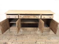 Pitch Pine Sideboard with Four Cupboards (3 of 10)