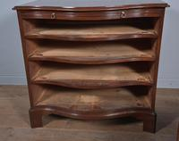 Regency Mahogany Serpentine Chest of Drawers (10 of 11)