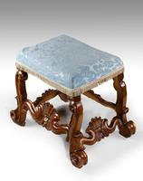 James II Design Oak Stool