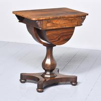 William IV Rosewood Work Box