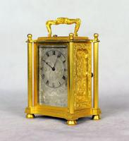 English Fusee Carriage Clock - James Voak of London