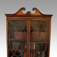 George VI Mahogany Library Bookcase (13 of 13)