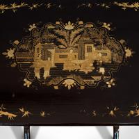Antique Nest Of Occasional Tables, Oriental, Trio, Japanned, Victorian c.1880 (5 of 12)