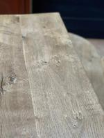 Rustic French Bleached Oak Coffee Table (12 of 20)