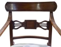 A Pair of Geo III Mahogany Elbow Chairs (6 of 8)