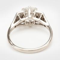 Art Deco 1.61 Carat Diamond Solitaire Engagement Ring c.1930 (2 of 8)