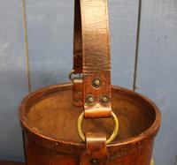 Antique Leather Fire Bucket (3 of 11)