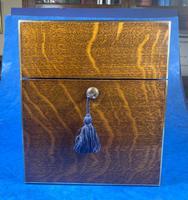 Victorian Brassbound Oak Decanter Box (3 of 20)