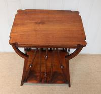 Small Arts & Crafts Walnut Table (2 of 8)