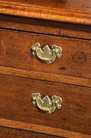 Late 18th Century Oak Dresser and Rack the base with central panel door (5 of 7)
